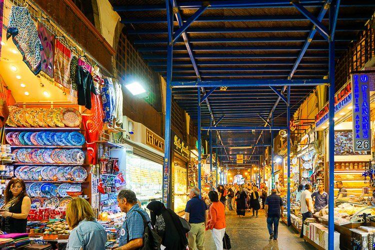 Spice bazaar Turkey