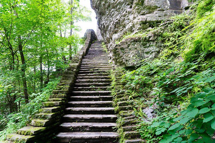 Watkins Glen State Park Stairs
