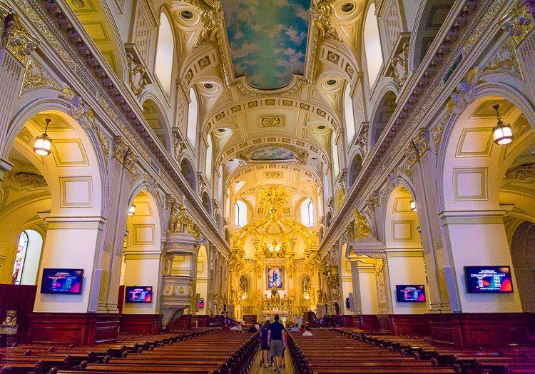 Notre-Dame Church Quebec City