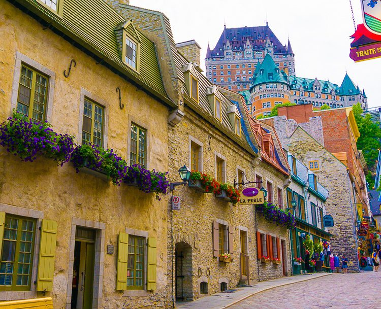 Quebec City is a fairy tale dream.