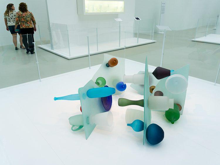 Corning glass museum sculpture