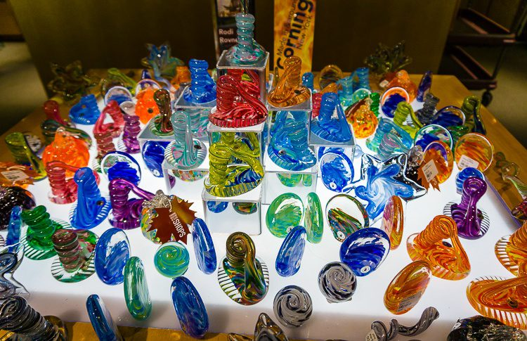 Corning museum of glass gift shop