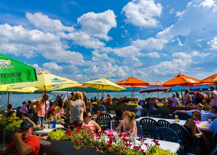 The Finger Lakes region of NY is amazing for outdoor eating!