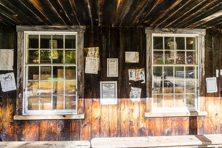 Antique buildings, Sturbridge Village. Do you feel like you've traveled back in time?