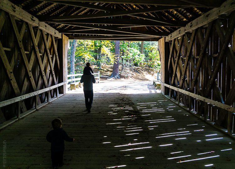 Covered bridge Sturbridge, MA