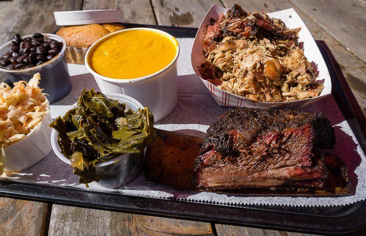 BBQ at B.T.'s Smokehouse, Sturbridge, MA