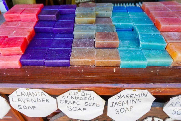 Deliciously natural bath soaps!