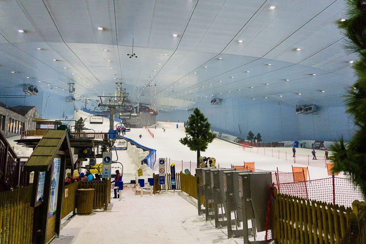 Yes, the tropical desert city of Dubai has built an indoor ski mountain.