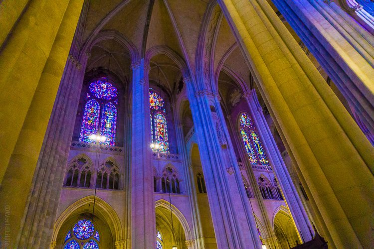 The biggest church in North America: St. John the Divine in NYC.