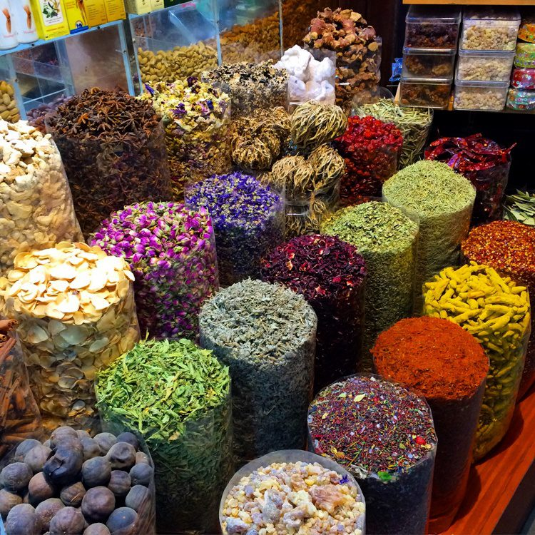 Did you guess that this article is illustrated with my most popular @WorldLillie Instagram posts of the year? Pictured: Spices in Dubai, United Arab Emirates.