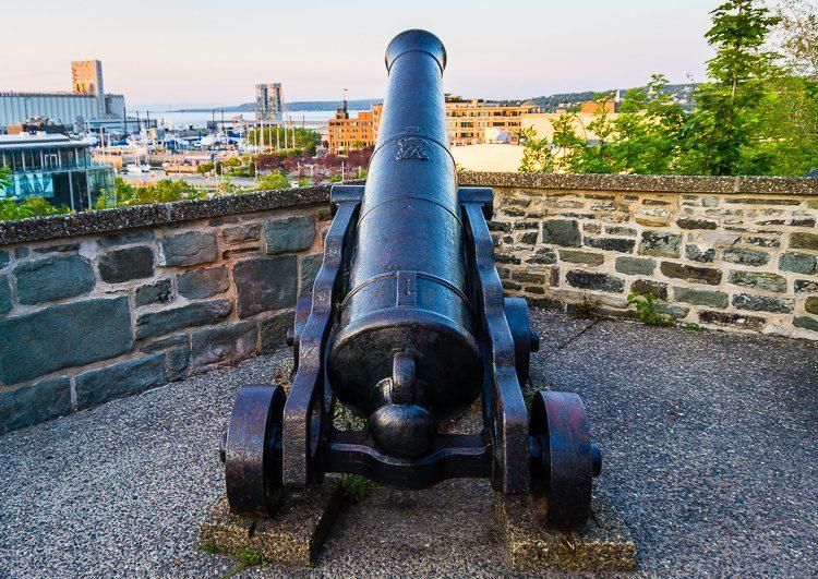 Quebec City cannon