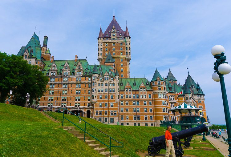Chateau Frontenac is the glamorous heart of the city.