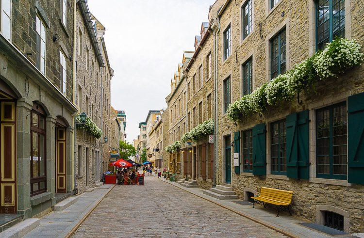 Cobblestones in Old Quebec.