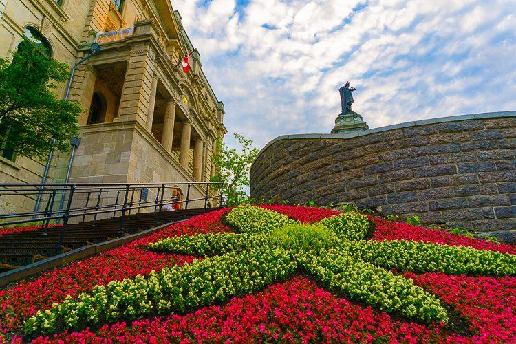 Gardens of Quebec City.