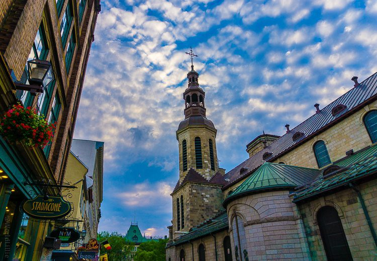 Quebec City's Notre-Dame Church.