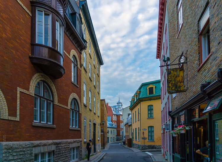 These winding streets are good for a week of happy wandering through Old Quebec.