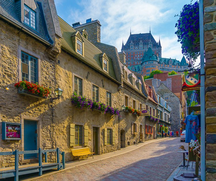 Old Quebec is such a charming part of Quebec City.