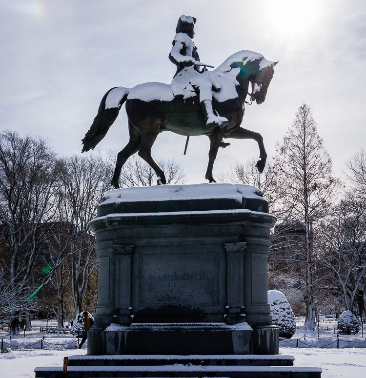 Such an iconic Boston statue.