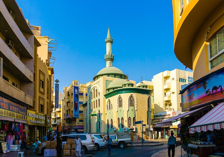 A mosque near the Spice Souk.