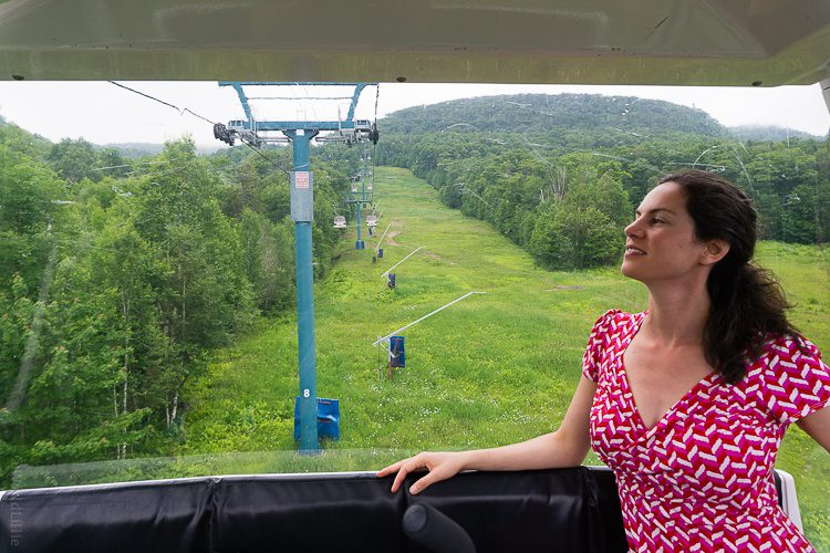Ahh... a gondola ride while secretly pregnant.