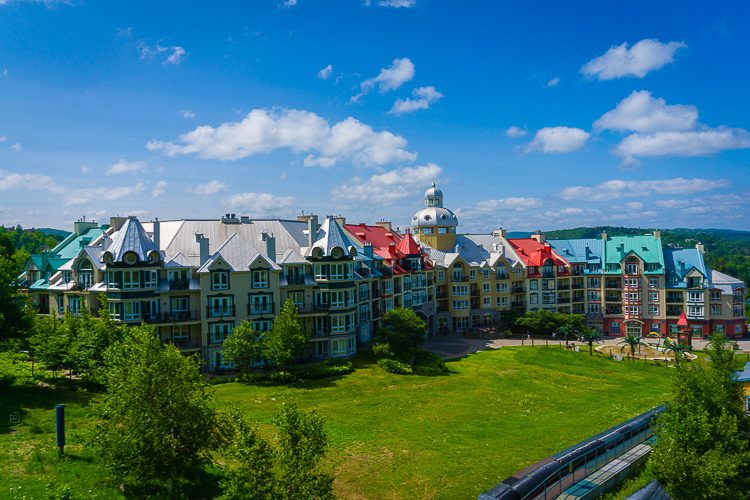 The fabulous architecture of Mont Tremblant echoes Old Quebec.
