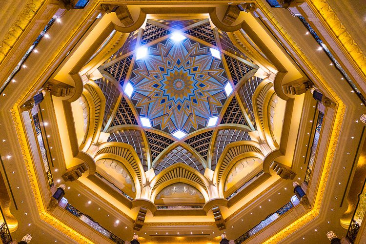 Thank you for your beauty, Emirates Palace!