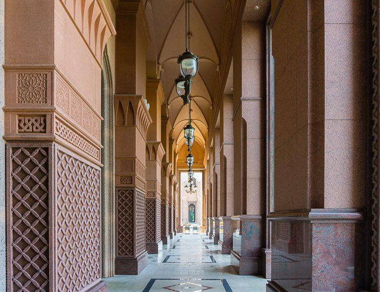 Emirates Palace Abu Dhabi arches