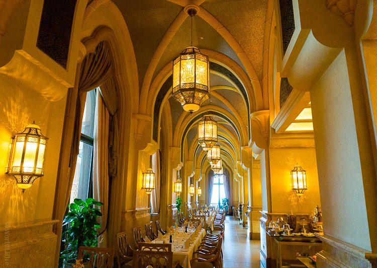 Le Vendome Brasserie Restaurant, Emirates Palace Hotel, Abu Dhabi