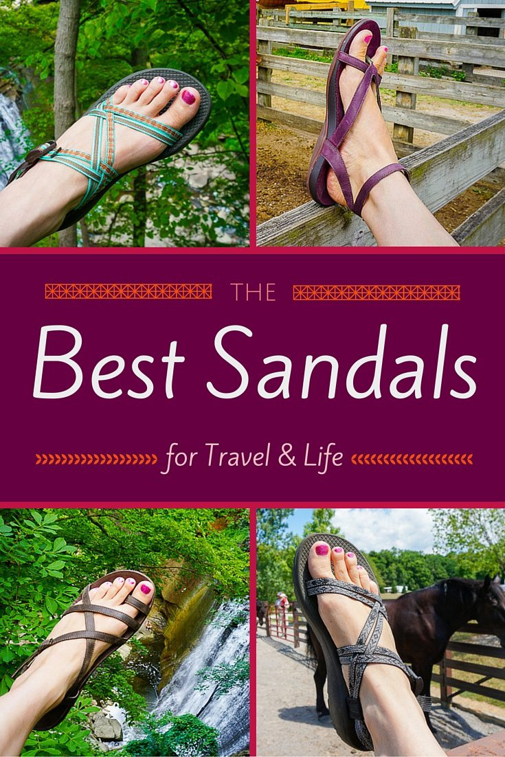 The best sandals for comfort, arch support, durability, and fashion, during travel and daily life: my love song for Chaco shoes.