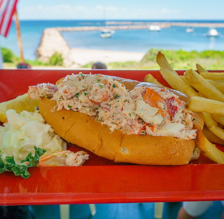 Double lobster National Hotel lobster roll!