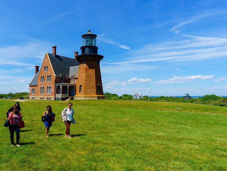 The Southeast Lighthouse is a Block Island landmark.