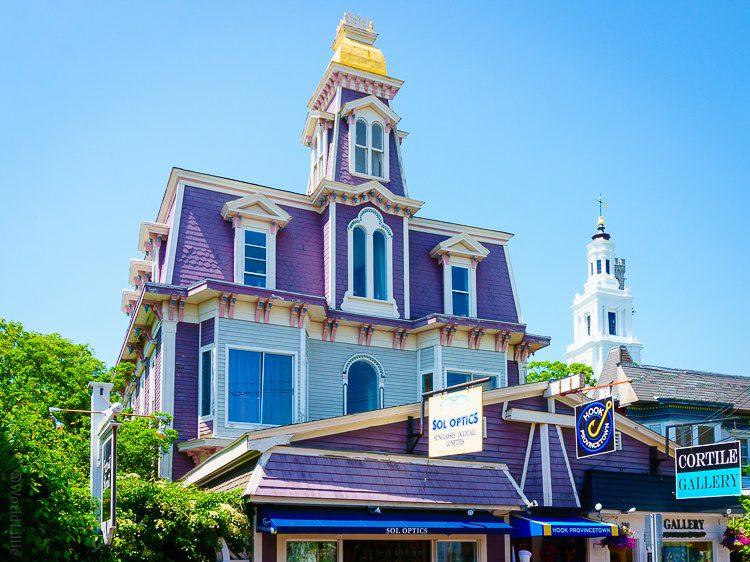 Provincetown, MA purple house