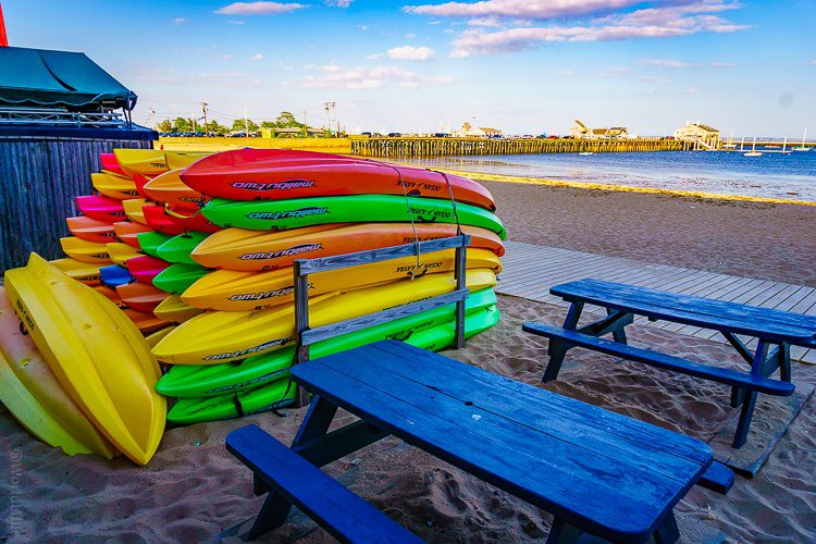 Provincetown beaches and kayaks