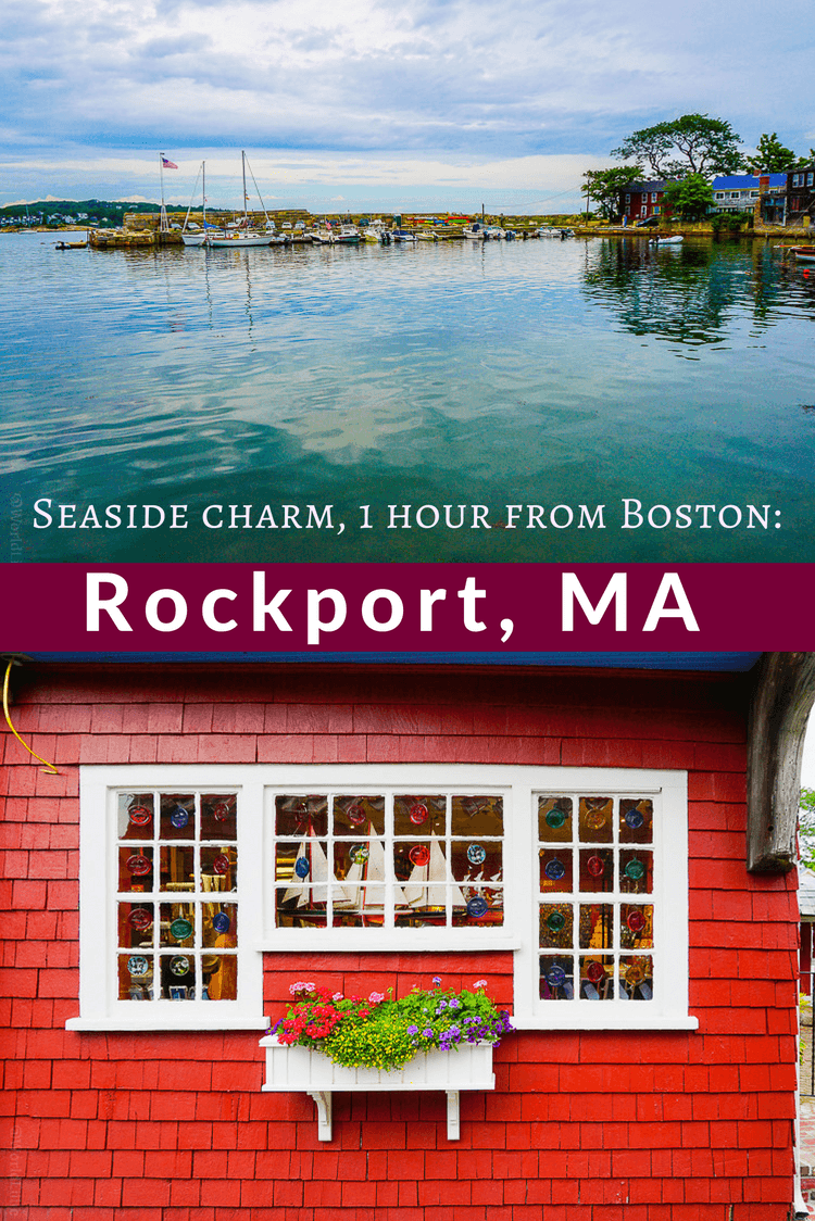 Rockport, Massachusetts is a perfect seaside getaway just an hour from Boston, MA for a day trip or weekend travel, what with its charming shopping and delicious seafood.