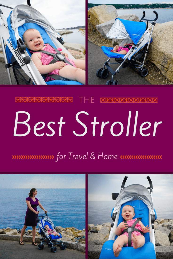 """The best stroller for travel and home may well be this reclining umbrella stroller from UPPAbaby called the G-LUXE. It can help you avoid """"Nap Jail"""" and stay out longer! See details here for why."""