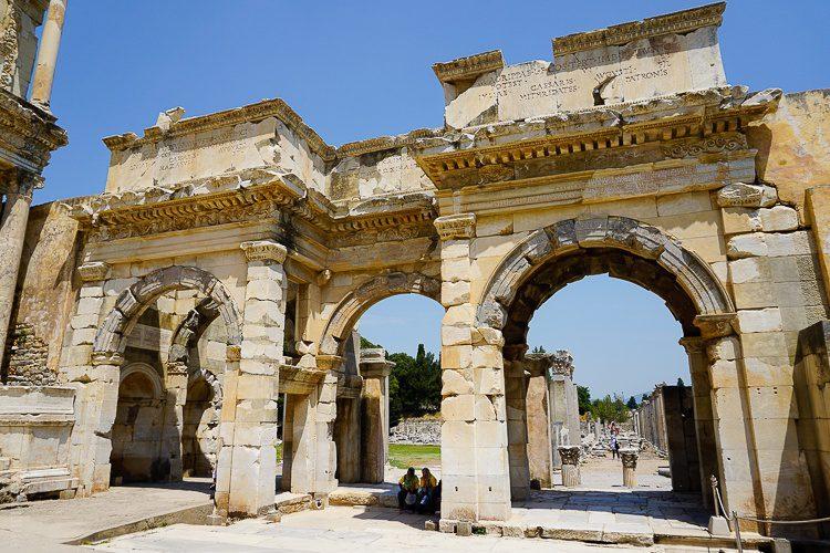 Ephesus: Gate of Augustus