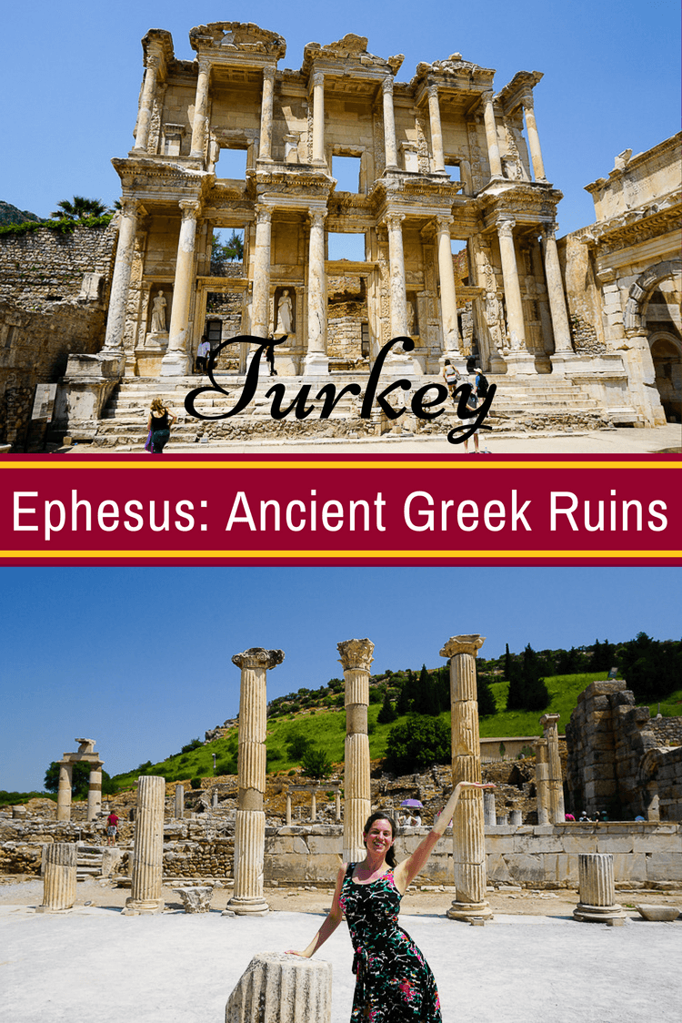 Ephesus, the Famous Ancient Greek Ruins in Turkey