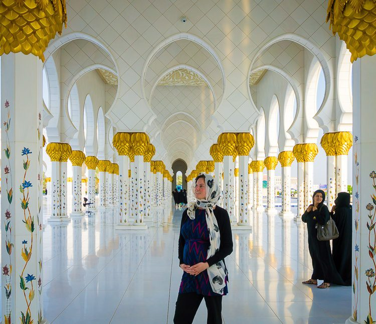 I loved Abu Dhabi's Sheikh Zayed Mosque!