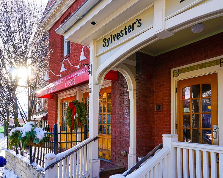 Sylvester's Northampton, MA for weekend getaways in New England