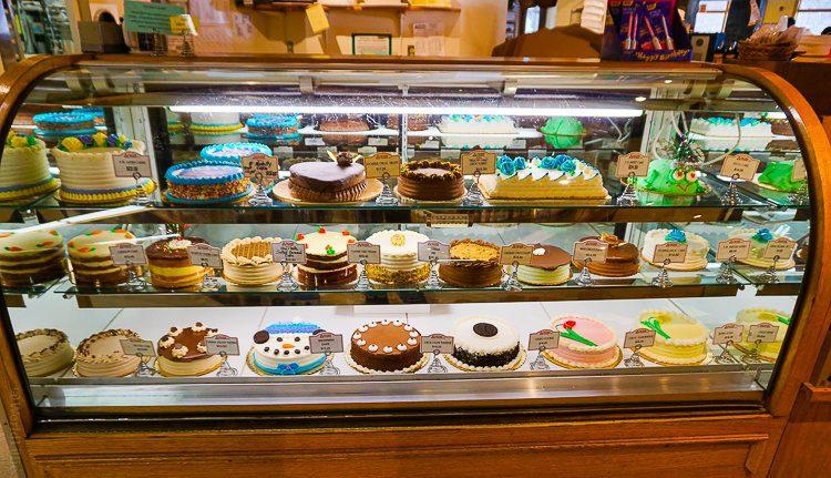 So many delicious treats at Atkins Farm market.