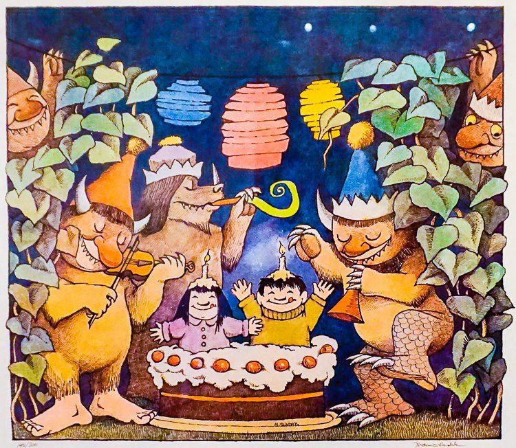 Original Maurice Sendak illustrations!