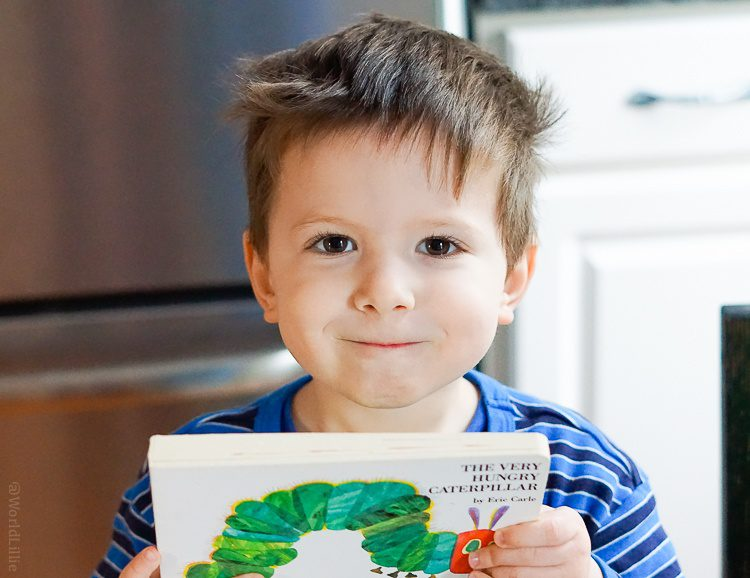My little guy loves his Hungry Caterpillar book.