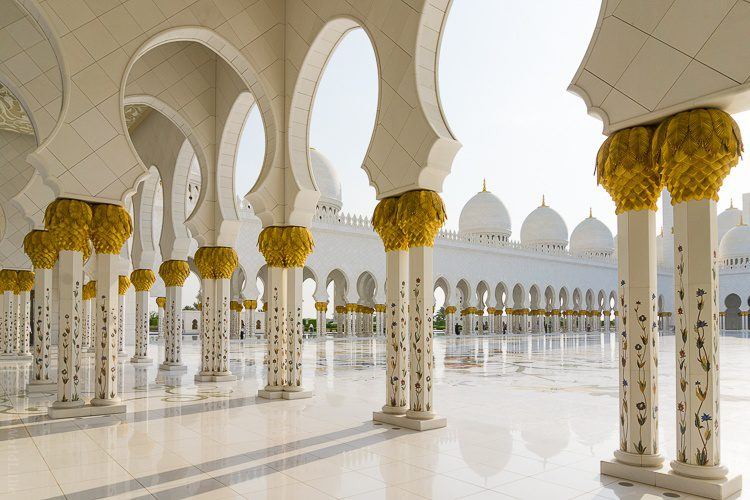 Beautiful Grand Mosque Abu Dhabi
