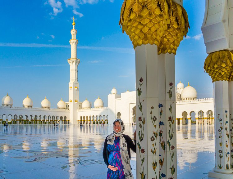 I loved every moment of touring the Grand Mosque.