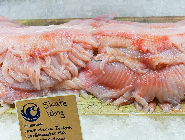 Well, that's some interesting-looking seafood.