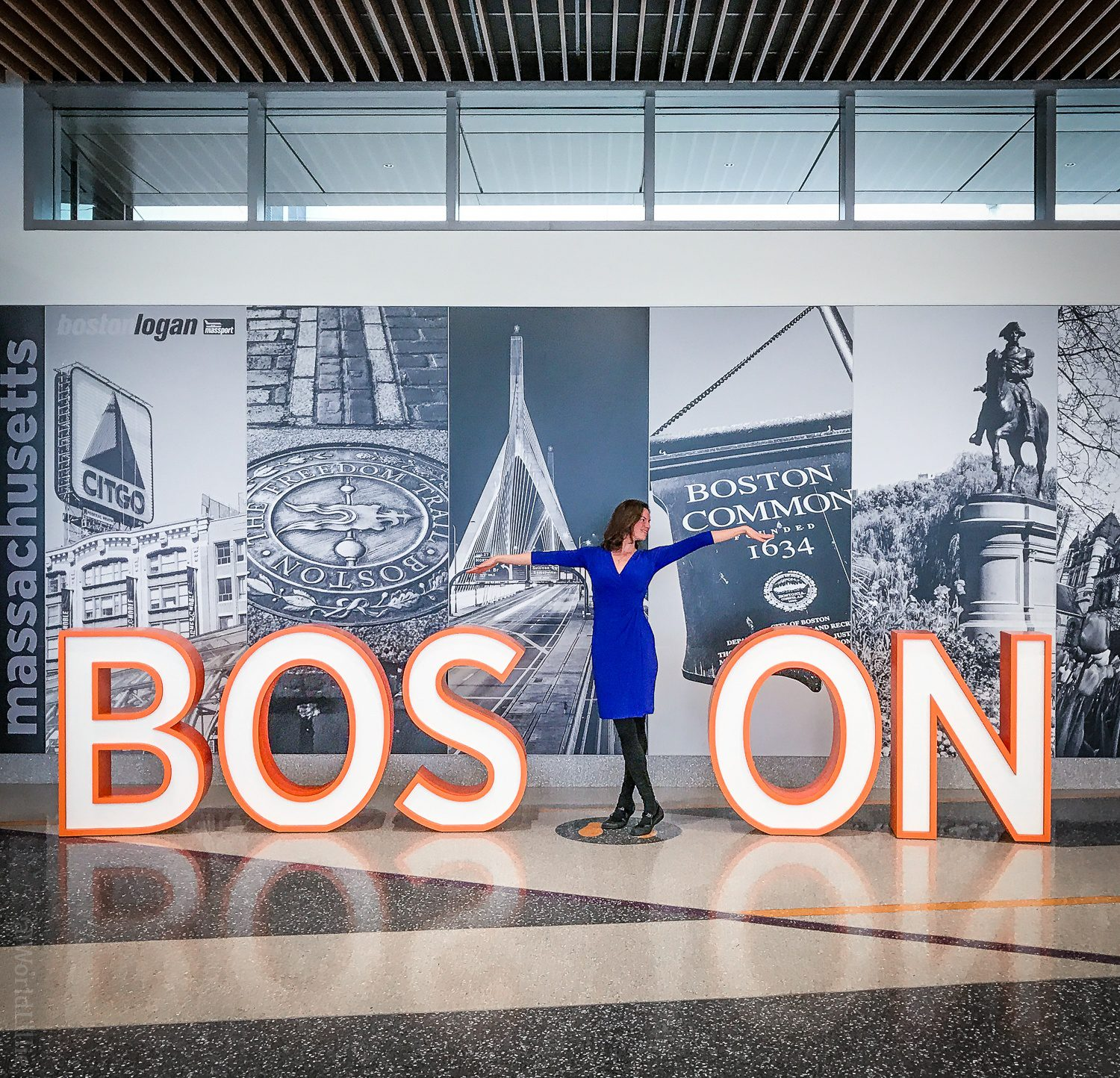 Oh Boston Logan Airport: So photogenic!