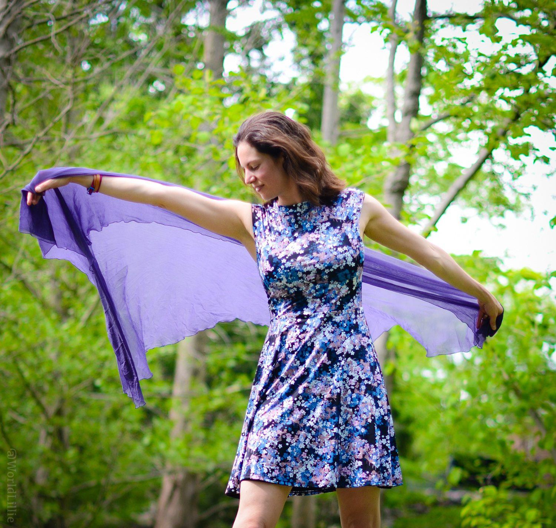 High-neck reversible dress power!