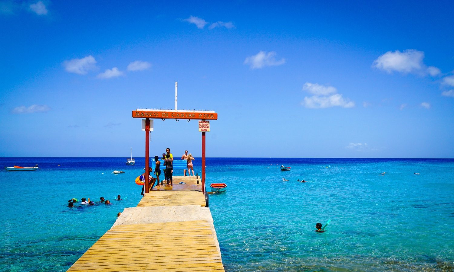 Every ethnicity and skin tone is represented in Curaçao!