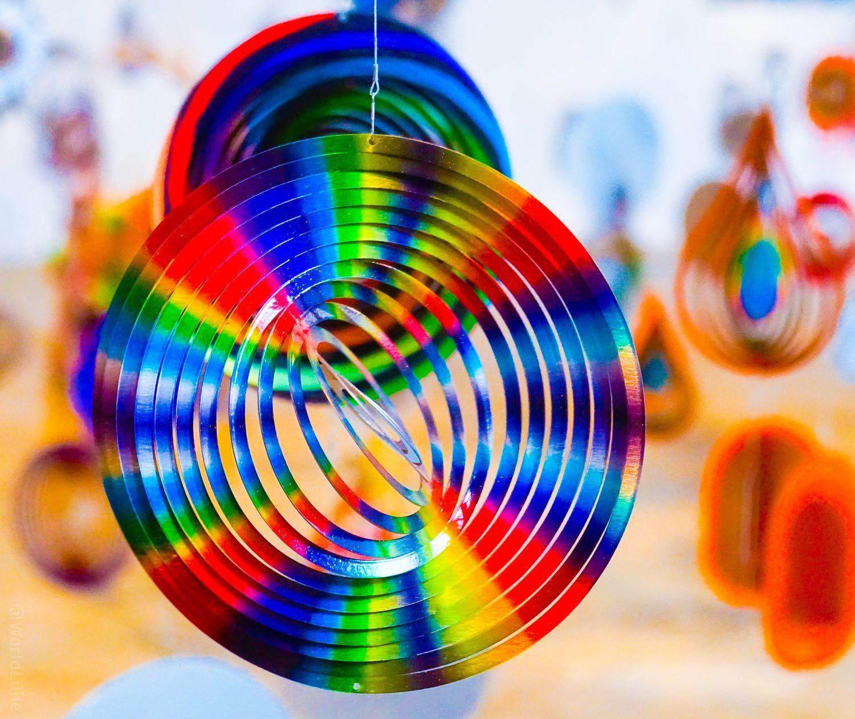 Love the rainbow swirls.