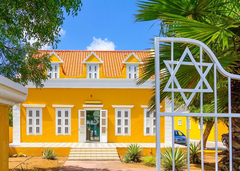 Scharloo is the historic Jewish neighborhood of Willemstad.